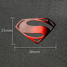 1pc Hot Movie Superman 3D Metal Sticker For Phone PSP Computer Laptop Car Toys