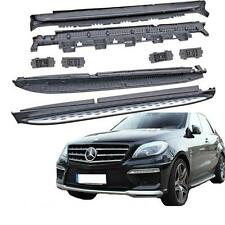MARCHE PIEDS PLAT ALU MERCEDES AMG LOOK ML W166 2011+ + GLE 2015+