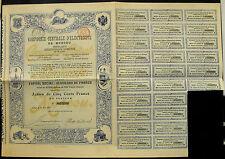 Rusia Russia Compagnie centrale d 'electricite moscú 1899 decorativa