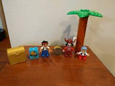 LEGO DUPLO FIGURE CUBBY & SKULLY PARROT LOT JAKE and the NEVERLAND PIRATES PART
