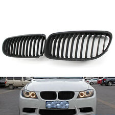 For BMW 3 Series LCI Facelift E90 Gloss Shine Kidney Euro Sport Grill 09-11