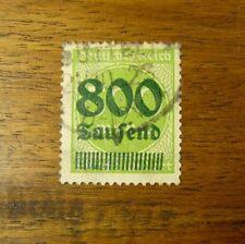 Deutsche Reich Mi Nr. 307 sauber gestempelt, feinst, Fotoattest, geprüft