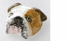 Painted ~ English Bulldog ~ Lapel Pin / Brooch ~ DP072