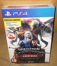 Wiedzmin 3 III Krew i Wino Dodatek PS4 The Witcher 3 Blood and Wine BOX NEU OVP