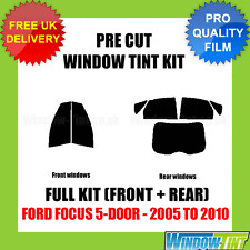 FORD FOCUS 5-DOOR 2005-2010 FULL PRE CUT WINDOW TINT KIT