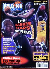 MAXI BASKET n°159 du 1/1997; Les Babies Stars de NBA/ Bourges/ Didier Rose
