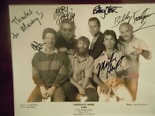 Grateful Dead Jerry Garcia Authentic Autographs  Signed By All From Manny's NYC