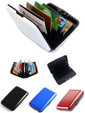 Aluma Aluminium Security Cash Credit Card Wallet Case (Pack of 3)