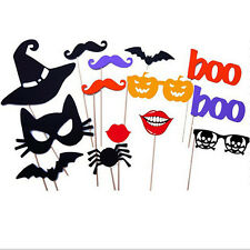 14pz. Halloween Maschere Costume Cosplay Joker Festa Puntelli Di Photo Booth