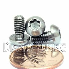 TITANIUM M4 x 8mm - BUTTON HEAD Cap Screw BHCS - T25 TORX drive / Star / 6lobe