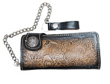 1001 !! CLUTCH WALLET SAFETY CHAIN WITH SNAP CLOSED (BIKER / TRUCKER)
