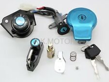 Fuel Gas Cap Ignition Switch Lock Set For Yamaha VIRAGO XV125 XV250 XV535 XV240