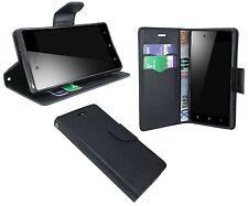Accesorio Cáscara para Lenovo Vibe Tiro Z90 Funda como uno Libro Negro