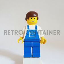 LEGO Minifigures - 1x ovr012 - Mechanic - Classic Town Omino Minifig 6699 6369