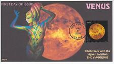 JVC CACHETS - 2016 VIEWS OF OUR PLANETS ISSUE FDC FIRST DAY COVER - VENUS