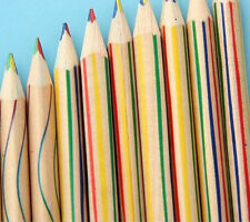 DIY Kids Pencil 4 in 1 Colored Drawing Painting Pencils Rainbow Color Pencil