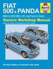 5558 Haynes Fiat 500 & Panda (2004 - 2012) 53 to 61 Workshop Manual