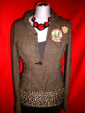 ONLY BLAZER JACKE RoCKaBiLLY PATCHES ARMY BLOGGER GR. 36 38 M NEU TOP