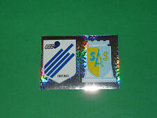N°284 A-B BADGES CRETEIL EPINAL PANINI FOOT 93 FOOTBALL 1992-1993