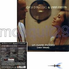 LARA FABIAN & GIGI D'ALESSIO RARE CDsingle FRANCE 2tr