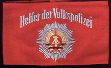 DDR Armbinde Helfer der Volkspolizei