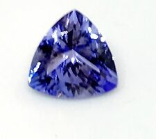 1.21ct Natural Tanzanite Trillion Cut AA+ Blue 'D' Block