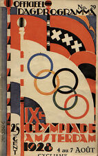 Olympische Spiele Olympic Games 1928 Programm Radsport Cycling