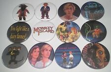 12 The Secret of Monkey Island pin badges Amiga 500