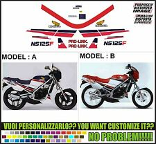 kit adesivi stickers compatibili ns 125 f 1986 tc01