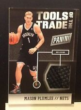 Tools of the trade Shoe MASON PLUMLEE #2 Nets RC 2014 2013/14 Panini National