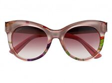Gucci Sunglasses GG3739 2F616 Pink Floral Frame Pink Gradient Lens New 2015