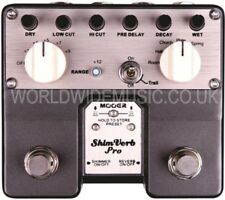 Mooer Audio Shimverb Pro Reverb / Brillo Guitarra Efectos Pedal / Stomp Box