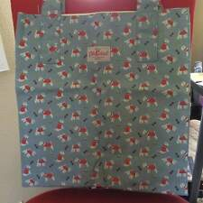 Cath Kidston London Cotton Shopping Bag Super Cute Tote Stanley Westie Dog NWT