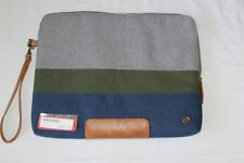 PKG LS04-13-DRI-BGGRY Slouch Laptop Sleeve - Blue/Green/Gray  This is an OPEN BO