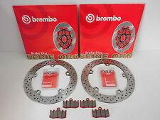 Brembo Bremsscheiben + Sinter Bremsbeläge vorne BMW R 1150 GS, R 1200 GS, S, Adv