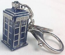 3D TARDIS Doctor Who Science Fiction TV Series - Keychain Keyring