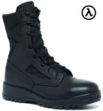 BELLEVILLE 300 TROP ST HOT WEATHER BLACK STEEL TOE BOOTS * ALL SIZES (M/W 3-16)