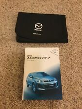 2011 11 Mazda Cx-7 Owners Manual User Guide