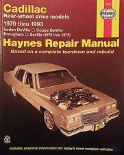 Haynes Repair Manual 21030 / Cadillac Rear-Wheel Drive 1970-1993