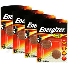 8 x Energizer Lithium CR2430 batteries 3V Coin cell DL2430 ERC2430 Pack of 2
