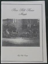 ROSE HILL MARPLE Manor House History Manchester Local Social Building People