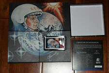 2011 Niue 2$ Conquest of Space - First Man in Space .999 Proof 1Oz Silver Coin!!