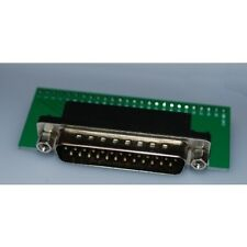 DB25 Parallel Port Male Breakout Board breadboard