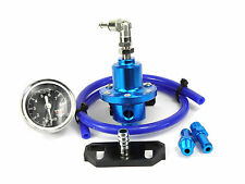 Lexus GS300 2JZ-GTE Blue Adjustable Fuel Pressure Regulator & Fuel Rail Adapter