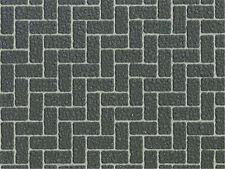 Tamiya #87169 Diorama Material Sheet - Gray Brick A Finishing Supplies Cap