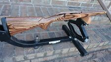 Remington 700 L/A LEFT hand/ for right hand bolt BDL BROWN CAMO  STOCK 618