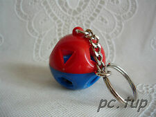 Porte clés Tupperware (keychain) Ballon surprise rouge et bleu