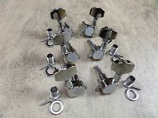 Guitar Tuners String Tuning Pegs 3L + 3R Machine Heads for LP / SG etc Guitars
