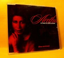 MAXI Single CD Aretha Franklin A Rose Is Still A Rose (The Remixes) 5TR 1997 RnB