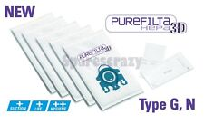 Purefilta HEPA 3D Bag & Filter Pack (5) to fit Miele Type G N Complete C2 Series